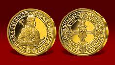 Brandenburski Portugaleser z 1584 roku - najcenniejsza złota moneta Niemiec