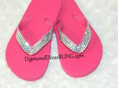 Cutest kid sandals ever! www.DiamondDivasBLING.com ♥ LIKE ♥ our page today! www.facebook.com/​DiamondDivasBLING ♥ Rhinestone Sandals, 3 Shop, Flip Flops, Bling, Kid, Facebook, Shopping, Shoes, Women