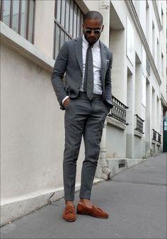 grey summer suit #men #suit #grey #summer