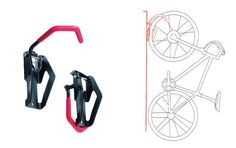 Bicycle bike stand removable wall rack storage display repair build fixed gear
