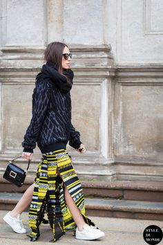 #New on #STYLEDUMONDE http://www.styledumonde.com with @erika_boldrin #ErikaBoldrin at #milan #fashionweek #mfw #robertocavalli #adidas #outfit #ootd #streetstyle #streetfashion #streetchic #streetsnaps #fashion #mode #style