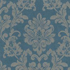 Die 93 besten bilder von tapeten wall papers baroque und farmhouse - Tapete petrol blau ...
