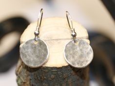 I'm pretty much obsessed with hammered silver jewelry.