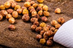 The New Popcorn: Spicy Curried Roasted Chickpeas