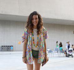 Street Style   Fashion Blogger Giulia Ann  Lenuagerose.com    http://www.lenuagerose.com/2013/07/fashion-index-anniversary-altaroma-preopening/