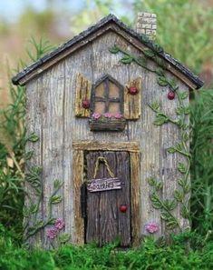Fairy garden figurines include fairy figurines, fairy houses, fairy doors, fairy furniture, holiday decor and other fairy garden miniature figurines. Fairy Doors On Trees, Fairy Garden Doors, Fairy Garden Furniture, Fairy Garden Supplies, Fairy Garden Houses, Fairy Gardening, Gardening Tips, Gardening Services, Garden Shop