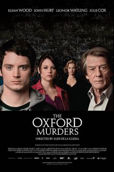American math student Martin transfers to Oxford in the hope of persuading renowned philosopher Arthur Seldom to oversee his thesis, but the murder of Martin's landlady plunges the pair into a mathematical mystery.