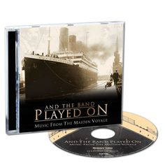 And the Band Played On CD - The sinking of RMS Titanic in April 1912 was one of the most famous and heartbreaking events in history. And the Band Played On commemorates the 100th Anniversary of that tragic maiden voyage with a collection of authentic music that was performed on that epic, ill-fated journey. This CD is also a tribute to the heroic musicians who continued to play even as the great steamship sank.