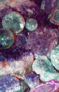Crystal Asteroids