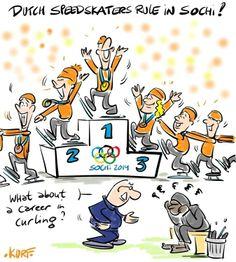 Dutch Speedskaters rule in Sochi #sochi2014
