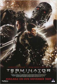 terminator posters | TERMINATOR SALVATION POSTER ]