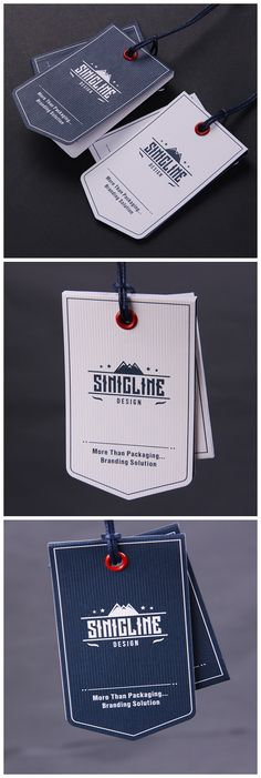 Sinicline new design: Vintage hang tags.  #hangtag #swingtag #labeling  Follow @sinicline for more.