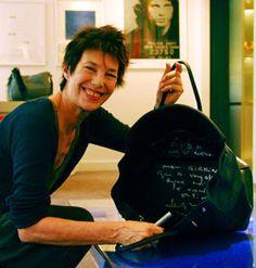 Jane Birkin and her bag