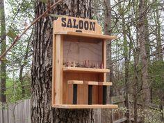 Saloon Bird Feeder - by Steve @ LumberJocks.com ~ woodworking community