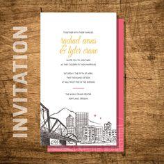 Cool 9 Wedding Invitations Portland Oregon Check More At Jharlowweddingplanning