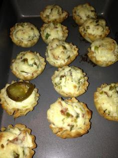 Jalapeño Poppers in Mini Phyllo Cups