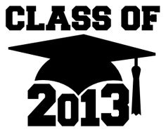 Class of 2013 free SVG and studio format.  She also has files for 2011 and 2012.