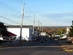 My home town Main St. Springhill Nova Scotia
