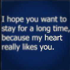 Heart you...