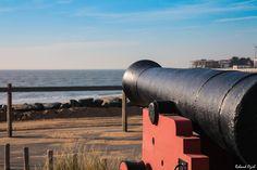 La Tranche sur Mer veut aussi avoir ses canons comme aux Sables d'Olonne amusant ...