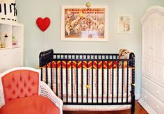 Add a pop of color to your nursery