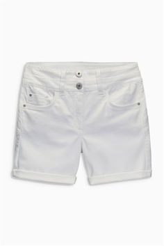 Everyone needs a pair of classic white shorts in the summer time, here are your perfect ones! Summer Wear, Summer Time, Lace Back, Next Uk, Classic White, Uk Online, White Shorts, Casual Shorts, Style Inspiration