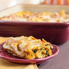Savory Pumpkin Lasagna Recipe - a great vegetarian alternative for Thanksgiving.