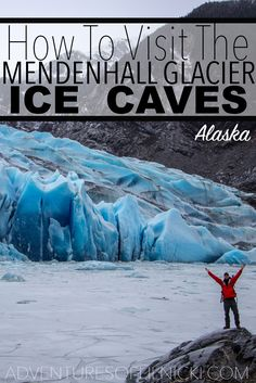 Find out more about this MUST SEE spot in Alaska!  Pictured: Mendenhall Glacier, Juneau, Alaska