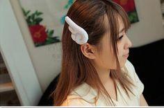 Barato 1 par bonito Lolita menina Anime Card Captor Sakura asa grampo de cabelo Hairpin presente, Compro Qualidade Jóias para cabelo diretamente de fornecedores da China: