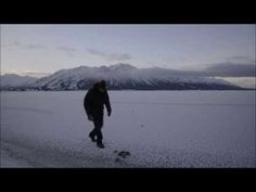 Man Tosses Rocks Over a Frozen Lake, Then Listens in Awe at the Unusual Sound it Makes... DEC 10 2014 :-)