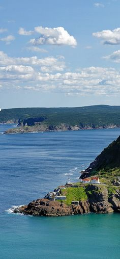 The view from signal hill, St John's, Newfoundland.