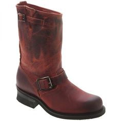 Drooling over these red Frye boots
