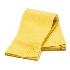 "MUkitchen Set of 2 MUmodern 24"" Dishtowels - Yellow at HSN.com."