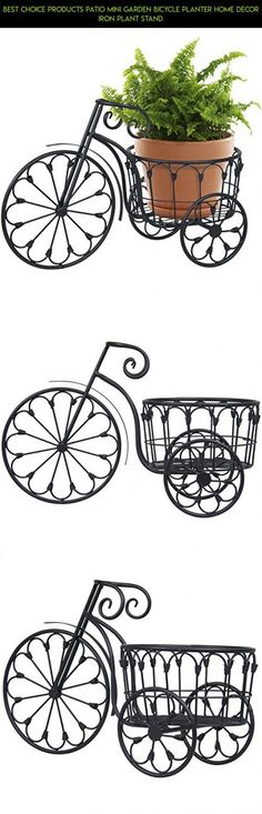 Best Choice Products Patio Mini Garden Bicycle Planter Home Decor Iron Plant Stand #tech #decor #drone #gadgets #shopping #technology #camera #fpv #products #plans #kit #racing #iron #outdoor #parts