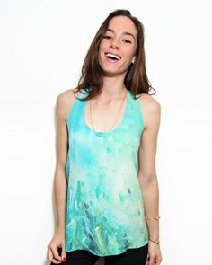 Cool art top on #sale by Vividly! #top #blouse #art #watercolor #fashion #women #vividly