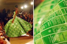 15 Inventive Dresses Made from Recycled Materials via Brit   Co