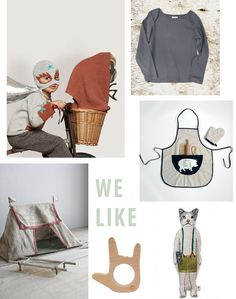{1. ET 2. lap shoulder top 3. butcher's apron 4. a tent 5. four monkeys 6. cat with mouse pocket doll} How cool is E.T. ...cool right! I just love that movie ... my parents divorced when I was six...
