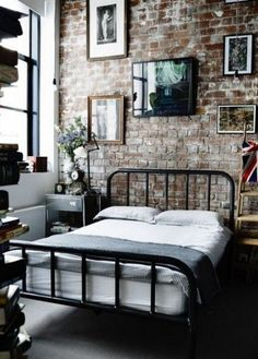 ComfyDwelling.com » Blog Archive » 31 Trendy Industrial Bedroom Design Ideas