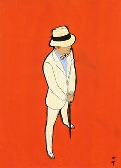 René Gruau  Cover for Sir, 1967 – No. 4