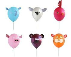 Creativas Ideas para Decorar con Globos Fiestas Infantiles