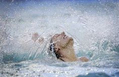 La colombiana Estefania Álvarez Piedrahita, del equipo de natación sincronizada…