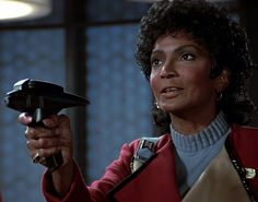 Uhura - (Still from film) 'Star Trek III - The Search for Spock'