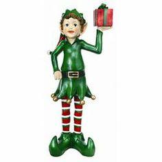 regency international christmas decorations | Regency International Elf with Gift Box Statue | Wayfair