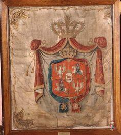 Choragiew regimentu gwardii pieszej koronnej po 1764