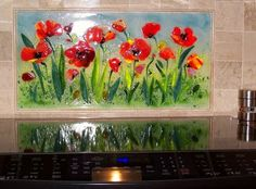 Kitchen and Residential Design: You'll never think of glass tile the same way again