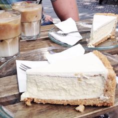 """Laura op Instagram: """"This is the best no-bake cheesecake I ever had """""""