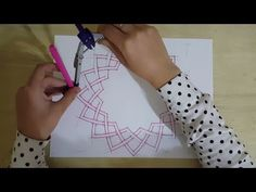 Pattern #14 details - How to draw an Islamic geometric pattern | زخارف اسلامية هندسية - YouTube