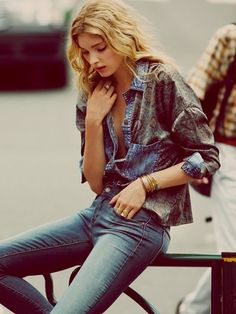 City Elsa hosk Free People ile Yaz 2016 99