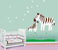 Animals DIY Train Wall Sticker For Kids Baby Room Nursery Home Decor Mural .XH