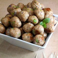 Turkey Appetizer Meatballs #700ReasonsForSummer